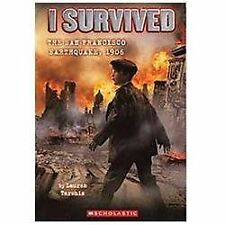 I Survived the San Francisco Earthquake 1906 No. 5 by Lauren Tarshis (2012,...