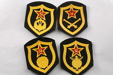 Soviet Red Army Construction Artillery Medical Chemical Engineer Patch Badge Lot