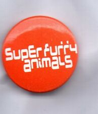 SUPER FURRY ANIMALS BUTTON BADGE Welsh Rock Band - Fuzzy Logic 25mm Pin