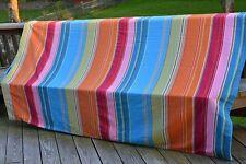 Pottery Barn Teen Full/Queen Duvet Cover & 2 Shams Multi-Color Striped