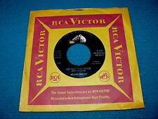 "MELVIN ENDSLEY ""...Want To Be Wanted"" VG++ 45 : RCA 47-7312 @ 1958 Country BLUES"