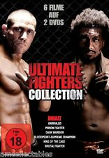 DVD - ULTIMATE FIGHTERS COLLECTION - 6 MOVIES ON 2 DVDs - NEW/OVP