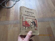 ANDRE DAHL contes pour la comtesse baudiniere 1933