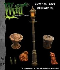 Malifaux: Base Inserts Victorian Streets Accessories WYR 0016
