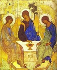 HOLY PRAYER BOOK CARD - HOLY TRINITY IKON - ANDRE RUBLEV - Orthodox catholic
