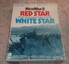 MechWar2: Red Star White Star...SPI 1979 Punched..Mechanized Combat in Europe...
