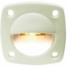 Flush Mount White Courtesy, Utility and Accent Light for Boats