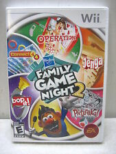 NINTENDO WII FAMILY GAME NIGHT 2 COMPLETE TESTED