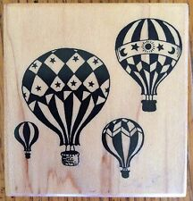 PSX Hot Air Balloon Rubber Stamp F-1480