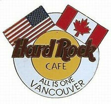 Hard Rock Cafe VANCOUVER 1997 Corporate Unification Flags Logo PIN - HRC #10315