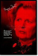 MARGARET THATCHER PHOTO PRINT - THE IRON LADY POSTER