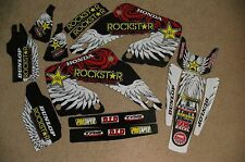 TEAM ROCKSTAR graphics Honda CR125 CR125R  CR250 CR250R 2000 2001