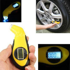 Car Tire Pressure Gauge LED Lights Digital Tyre Pressure Barometer LCD Backlight