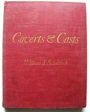 1943 SIGNED 1st Edition COVERTS AND CASTS: FIELD SPORTS & ANGLING By SCHALDACH
