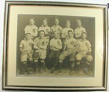 VINTAGE ANTIQUE OLD EARLY 1900'S BASEBALL TEAM STUDIO PHOTO