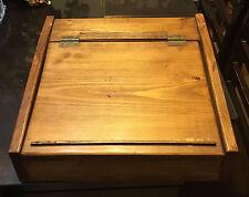 Vintage Portable Antique Wood Travel Writing Lap Desk