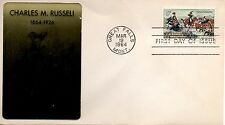 US FDC #1243 Russell, Sarzin (4247)