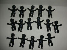 16 Black Mardi Gras/Baby Shower King Cake Babies - New!!!!
