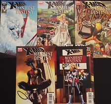 X-MEN: MANIFEST DESTINY 1,2,3,4,5...2008-9...VF/NM...Mike Carey...Bargain!