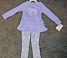Juicy Couture Toddler Girls 2 Piece Long Sleeve Set - Size 3T - NWT