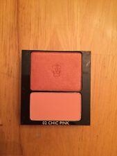 New Guerlain Rose Aux Joues Duo De Blush 02 Chic Pink 6g/.21oz