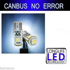 4 AMPOULE T10 W5W 194 501 9 LED SMD BLANC XENON CANBUS MERCEDES CLASSE C W204