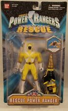 "Power Rangers Lightspeed Rescue - 5"" Rescue Yellow Ranger Figure By Bandai (MOC)"