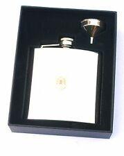 Gordon Highlanders Regiment 6oz Hip Flask Personalised Gift FREE ENGRAVING BGK10