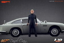 1/18 007 James Bond Daniel Craig figure VERY RARE !!! for 1:18 Aston Martin