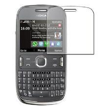 6 X Anti Graffio Proteggi Schermo per Nokia 302 ASHA-Display Savers Films