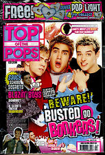 TOP OF THE POPS 2003 KELLY ROWL DANIEL BEDINGFIELD BUSTED KELLY OSB'RNE S CLUB 7
