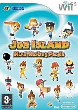 Job Island Hard Working People Nintendo Wii * NEW SEALED PAL *