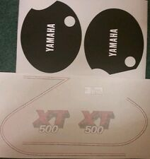 YAMAHA XT500H 1980 MODEL FULL PAINTWORK DECAL KIT
