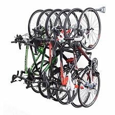 GARAGE Bike RACK 6 Bicycle WALL Mounted STORAGE by Monkey Bars Storage