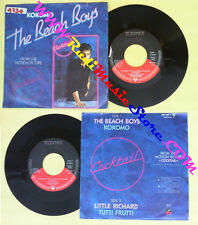 LP 45 7'' THE BEACH BOYS Kokomo LITTLE RICHARD Tutti frutti 1988 no cd mc dvd *