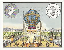Central African Rep 1983 Manned Flight Montgolfier Balloon S/S MNH (SC# 286)