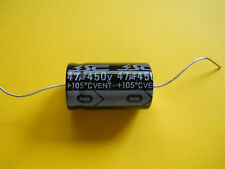 1 x 47uF @ 450V SC  AXIAL TUBE AMP CAPACITOR 105° C