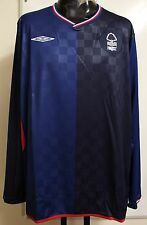 NOTTINGHAM FOREST 09/10 L/S AWAY SHIRT BY UMBRO ADULTS SIZE XL BRAND NEW