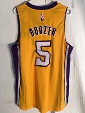 Adidas Swingman 2015-16 NBA Jersey Lakers Carlos Boozer Gold sz S