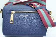 Marc Jacobs Blue Gotham Shoulder Bag Crossbody Handbag Leather NWT