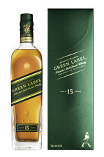 Johnnie Walker Green Label Blended Malt Scotch Whisky 0,7 Liter 43 %vol. 15 jähr