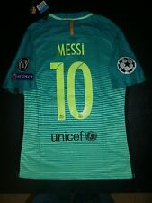 Barcelona Third Jersey Kit Player Version 2016/17 Lionel Messi Champions League