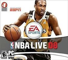 EA Sports NBA Live 08 Basketball DVD PC Game for Windows New