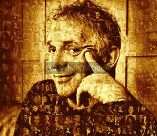 LARGE ORIGINAL MOSAIC PHOTO POSTER IN VARIOUS COLOURS OF RIK MAYALL R.I.P. No 10