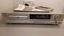 Technics SL-P477A CD Player Retro Vintage in Silver - Remote & Manual - MINT