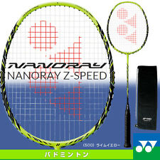 Yonex JP NANORAY Z-SPEED 3UG4 LIME YELLOW NR-ZSP New Badminton Racket Unstring