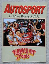 Autosport Le Mans yearbook 1993