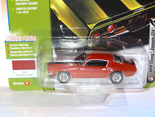 JL MUSCLE CARS USA CRANBERRY RED 1970 CHEVY CAMARO Z28 2017 RELEASE 1 VERSION B
