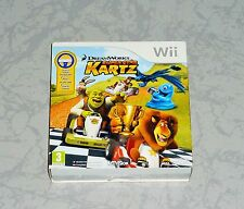 COFFRET JEU WII DREAM WORKS SUPER STAR KARTZ + VOLANT