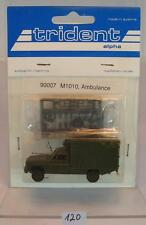 Trident 1/87 No. 90007 Chevrolet M1010 Truck US Army Ambulance OVP #120
